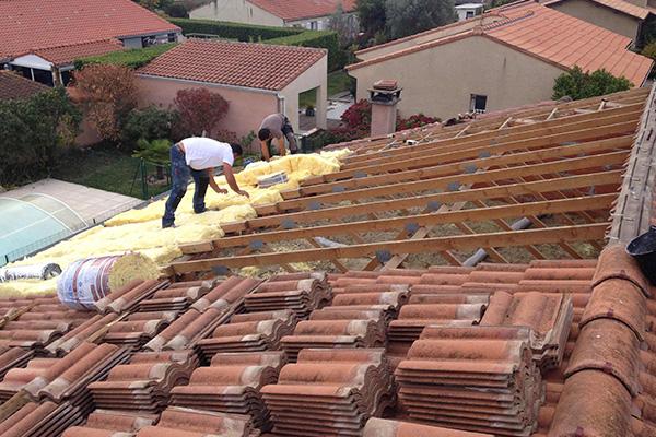 Entretien de charpente en bois à Pau - Ets Garcia Couverture