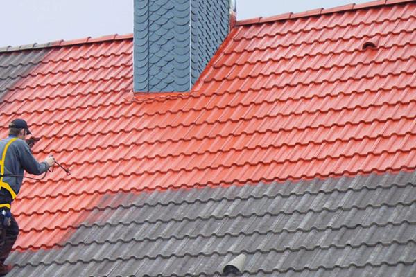 Résine hydrofuge colorée pour toiture à Pau - Ets Garcia Couverture