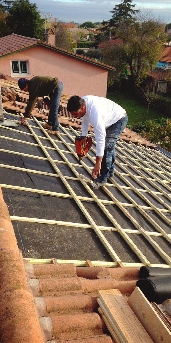 Rénovation de toiture à Pau - Ets Garcia Couverture
